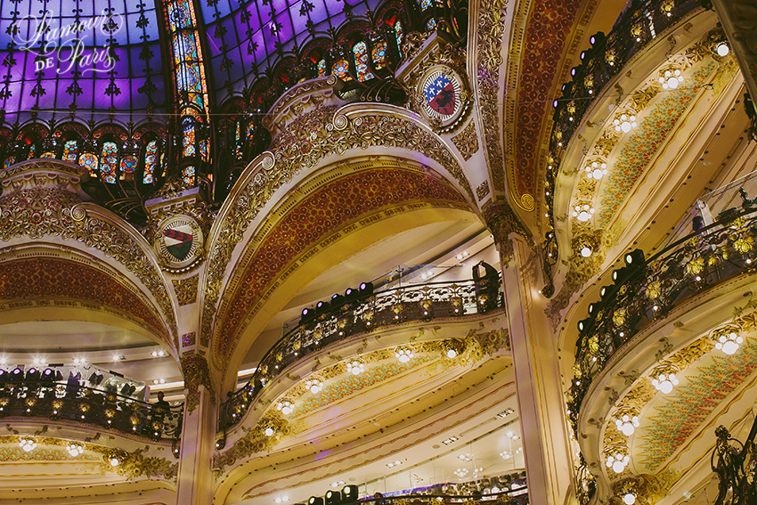 Christmas at the Galeries Lafayette