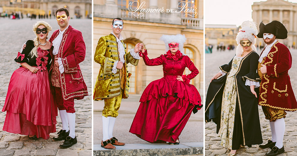 Versailles Masquerade Ball » L'Amour de Paris    Romantic Parisian Portraits in the City of Love