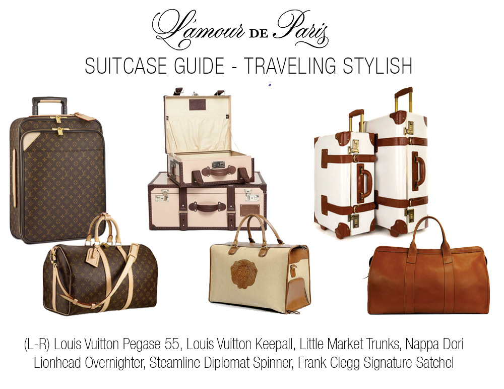 Travel Tips: Best Suitcases & Luggage » L'Amour de Paris ...