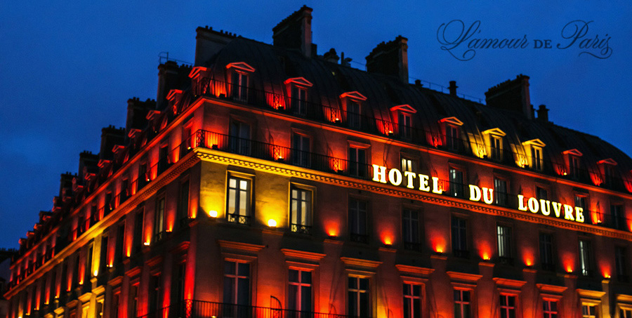 Hotel du Louvre, by Paris photographer Stacy Reeves