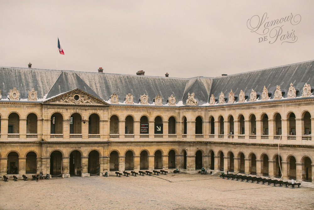 Paris Army Museum, also known as the Musée de l