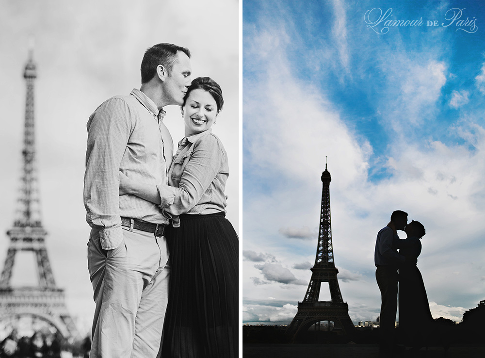 Portrait session of April and Ian Robson in Paris France by photographer Stacy Reeves for L
