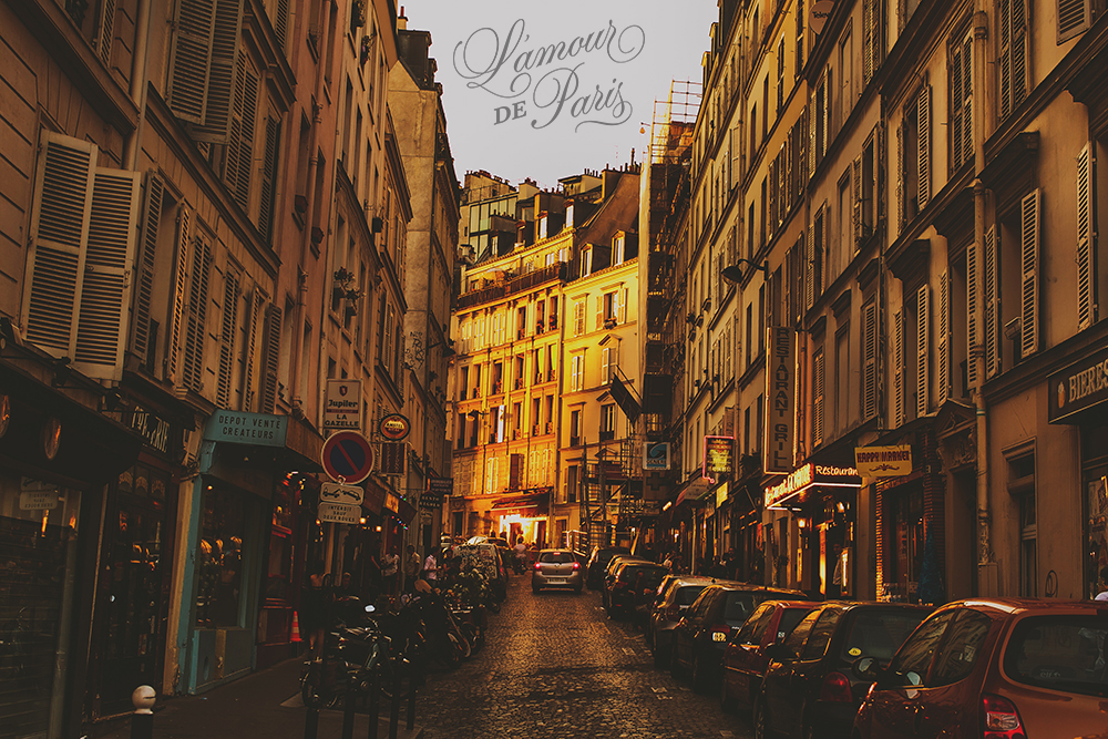 Paris at Sunset by photographer Stacy Reeves