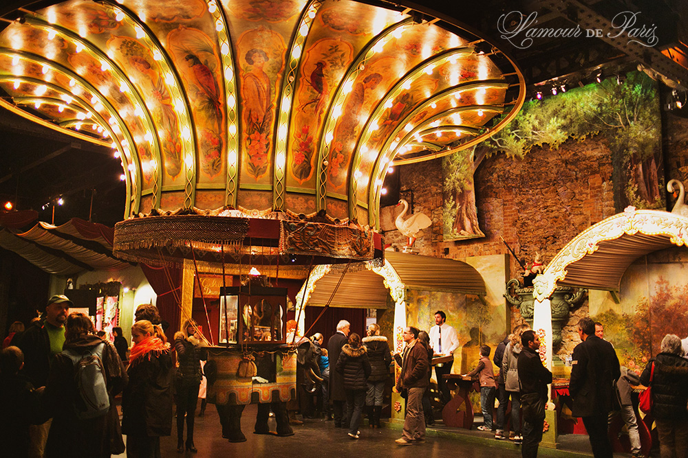 Musee des Arts Forains Carnival Museum in Paris France on vacation planning blog L