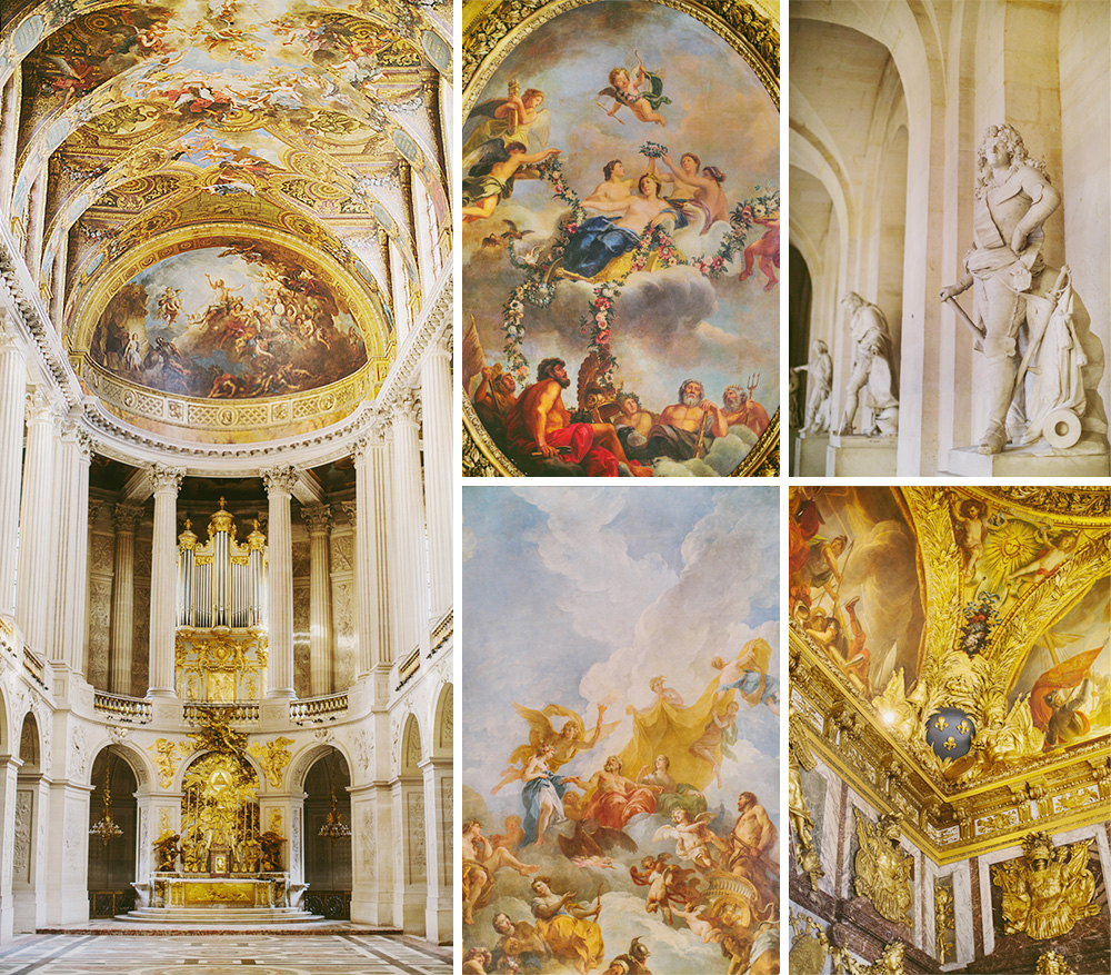 Versailles Paris interior photos