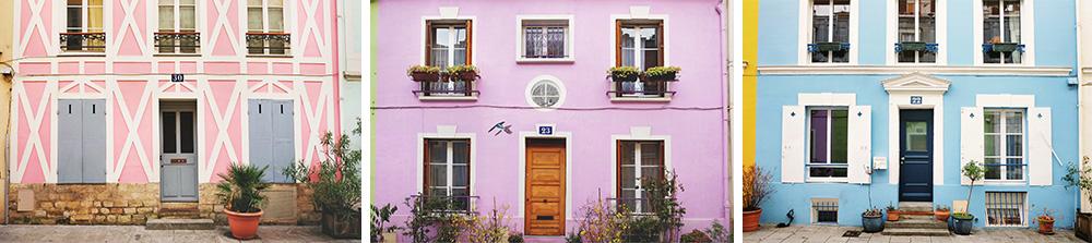 Rue Cremieux in Paris