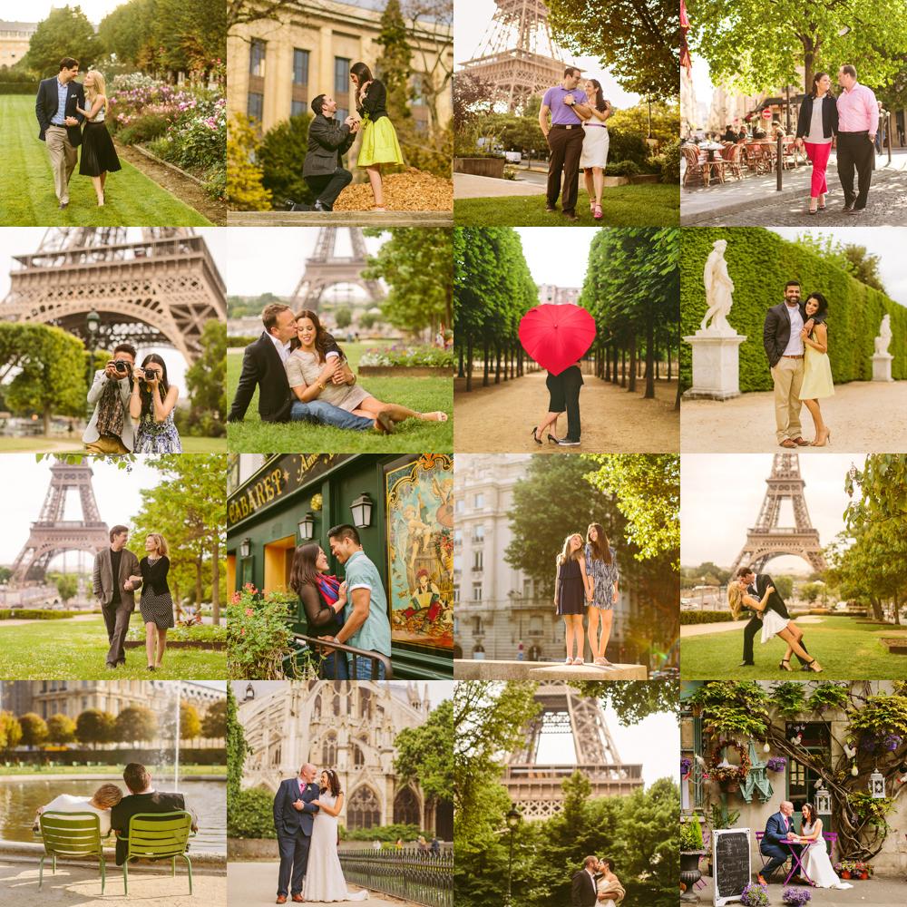 Paris portrait and wedding photography