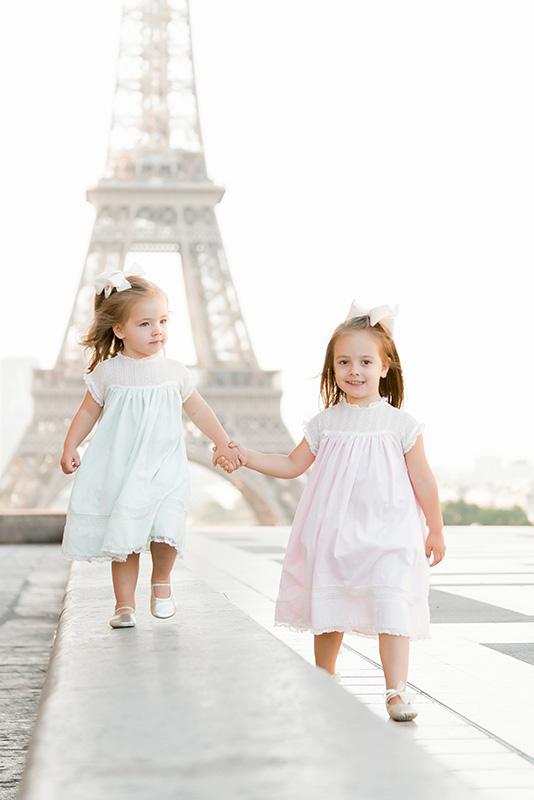 Paris Family Portraits at Eiffel Tower
