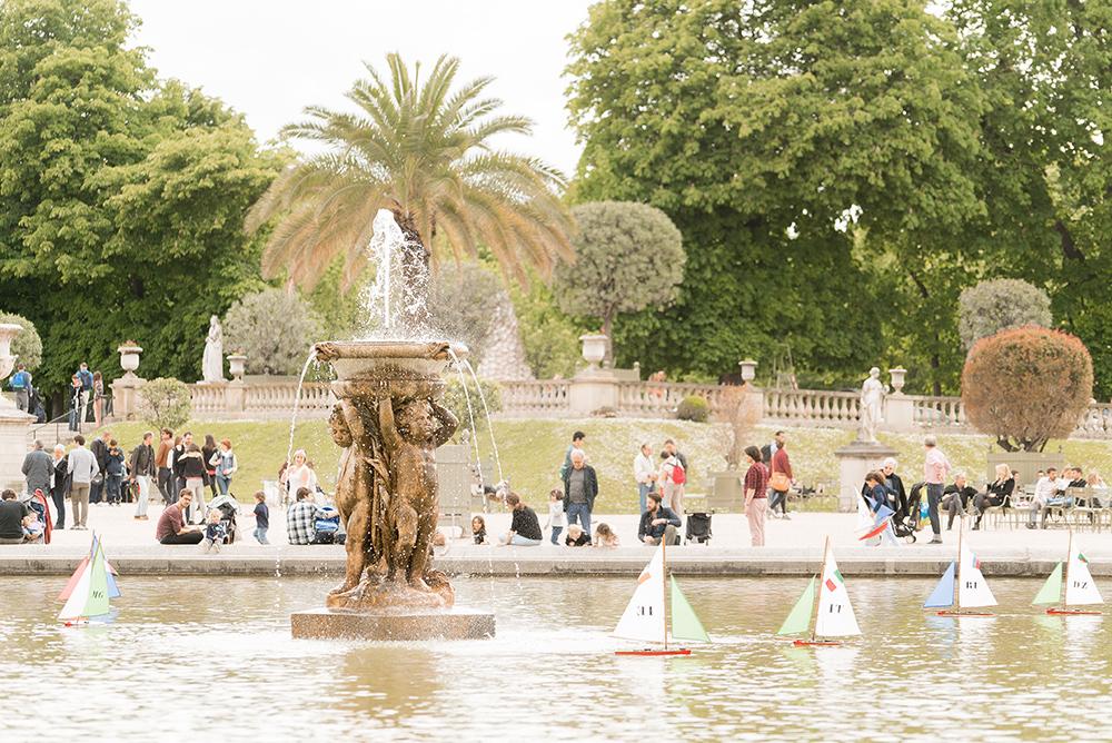 jardin du luxembourg garden fountain
