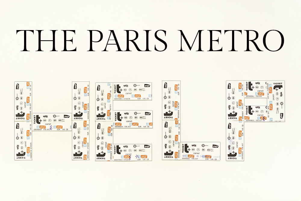 navigate the paris metro and buy tickets