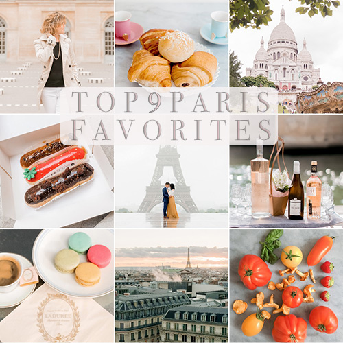 paris favorites top 9