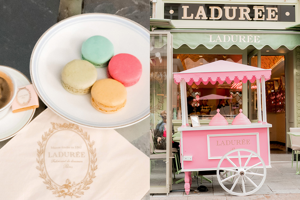 paris laduree macaroons
